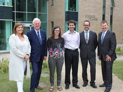 Visit to Chesterford Research Park by Uttlesford DC & INVEST Essex