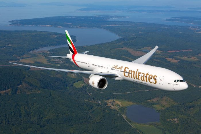 Emirates daily flight