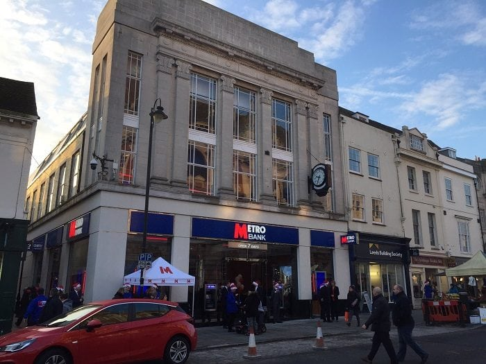 Metro Bank in Colchester
