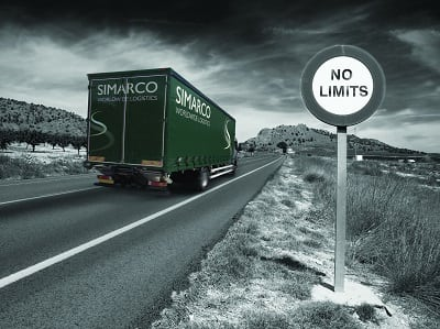 """alt=""""Simarco lorry black and white"""""""