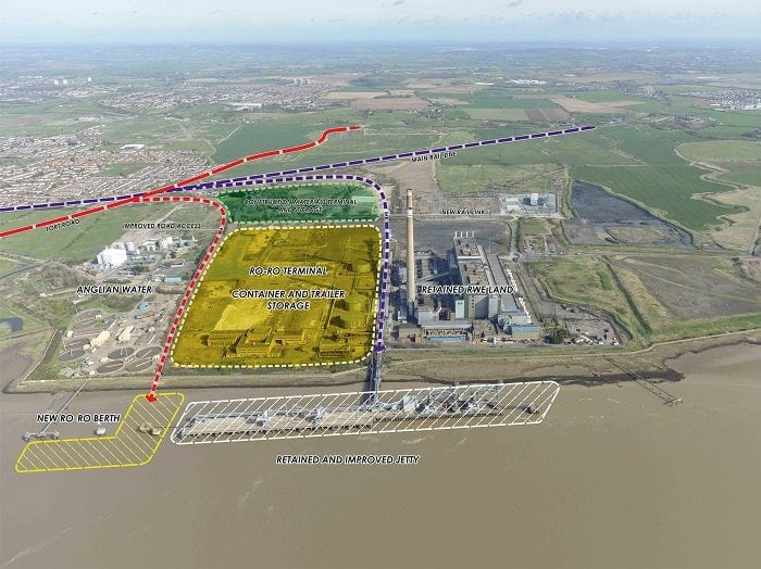 port of Tilbury expansion plan