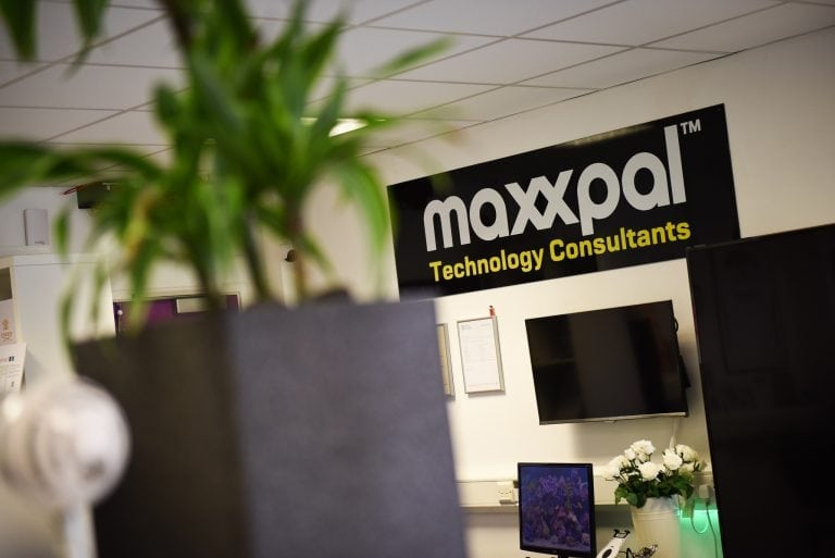 Maxxpal sign in office at OBC