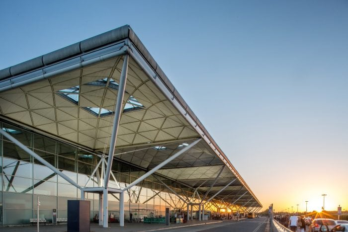 Stansted Airport external terminal