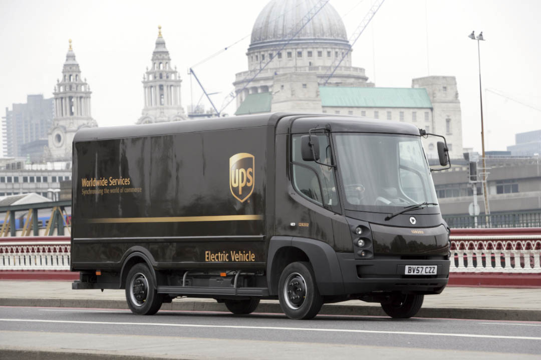 Electric UPS Vehicle in London