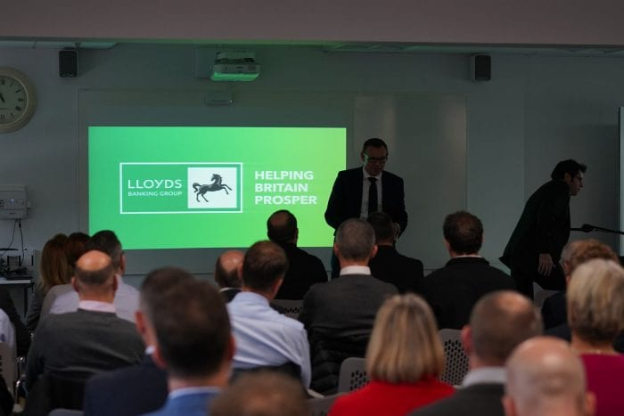 Lloyds Banking Group presenting at nuclear seminar event