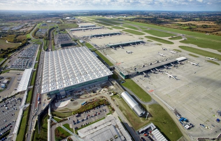 London Stansted aerial image