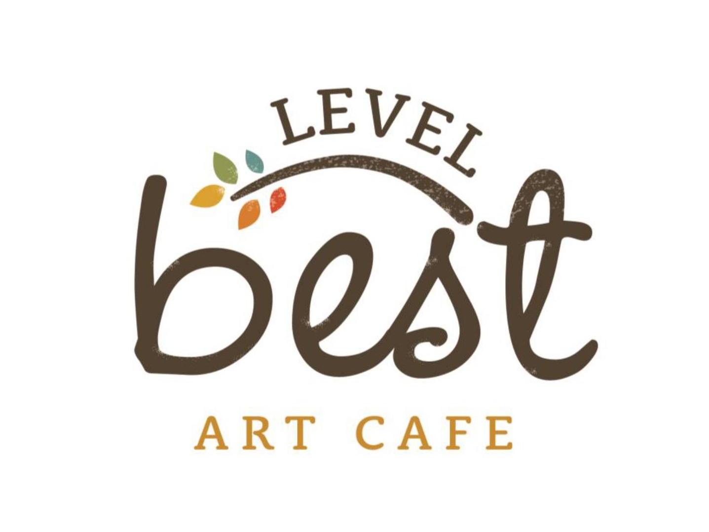 Level Best Art Cafe Logo