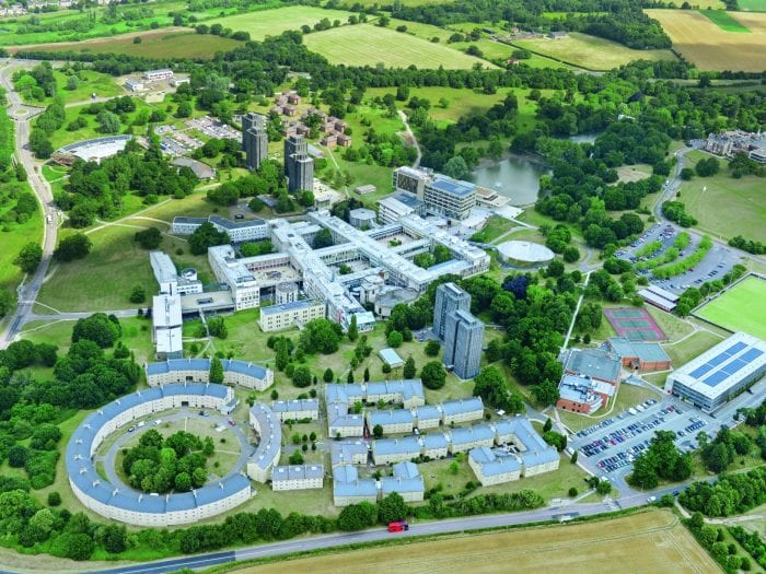 University of Essex aerial photo