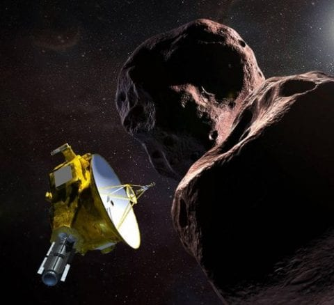 NASA's New Horizons specialist image sensors provided by Teledyne e2v
