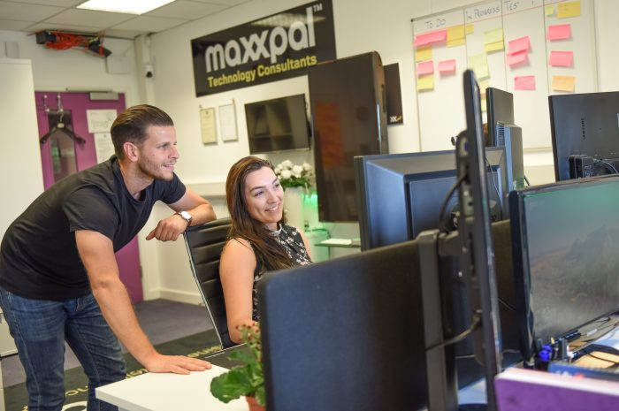 maxxpal office at Ongar Business Centre