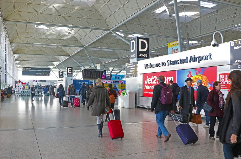 London Stansted Airport passengers